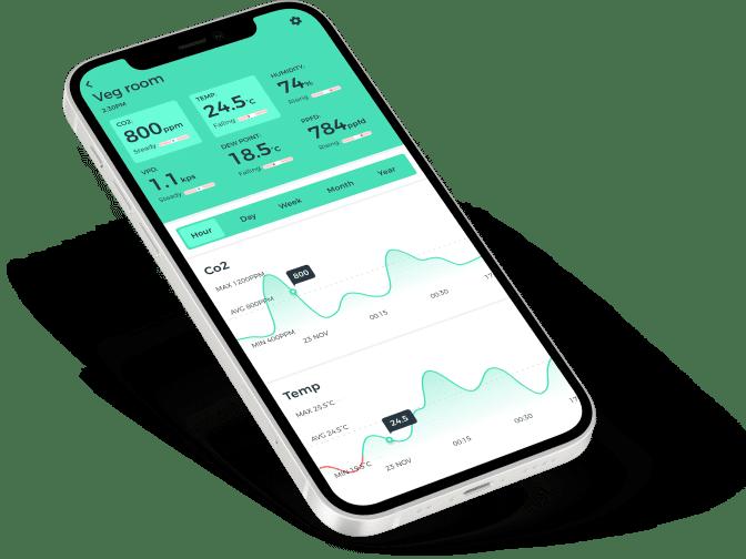 The Grow App - iPhone